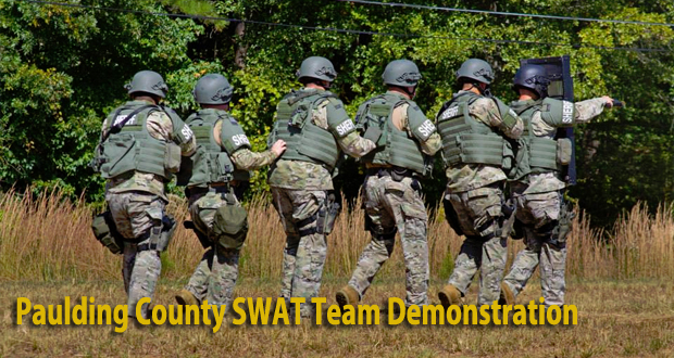 Public Safety Appreciation Day Family Festival 2013 - SWAT Team Demo
