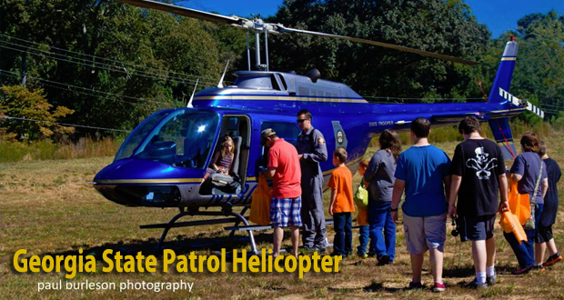 Public Safety Appreciation Day Family Festival 2013 - GSP Helicopter