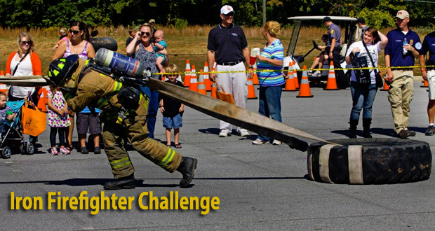 Public Safety Appreciation Day Family Festival 2013 - Iron Firefighter Challenge